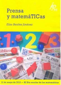 Cartel Día Escolar de las MatemáTICas