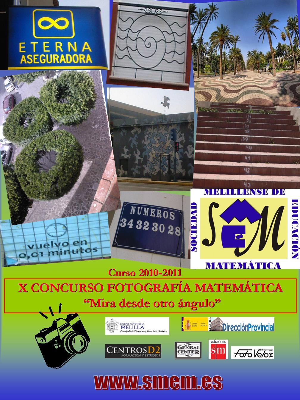 Cartel IX CONCURSO FOTOGRAFÍA MATEMÁTICA